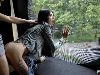 Krasser Fenster Fick mit versauter Spermafotze